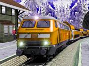 Uphill Station Drive Bullet Passenger Train Drive