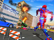 Superhero Police Speed Hero:rescue Mission