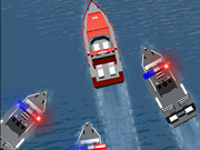 Police Boat Chase
