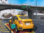Modern City Taxi Car Simulator