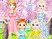 Frozen Family Flower Picnic