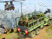 Army Cargo Transport Driving