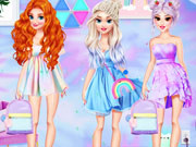 Princesses Tie Dye Trends Inspo