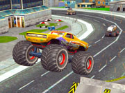 Monster Truck Stunts Free Jeep Racing
