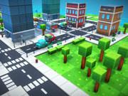 Pixel City Runner 3D