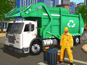 City Cleaner 3D Tractor Simulator