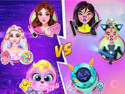 Cyberpunk Vs Candy Fashion Rivalry
