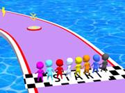 Waterpark Slide Race