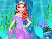 Mermaid Princess Save The Ocean