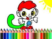 Bts Monkey Coloring